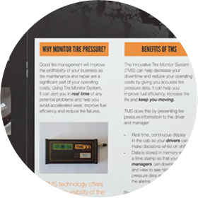 An example of brochure copywriting for buxton company TMS